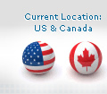 Current Location: US and Canada
